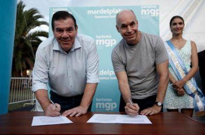 Convenio de colaboración entre Mar del Plata y CABA