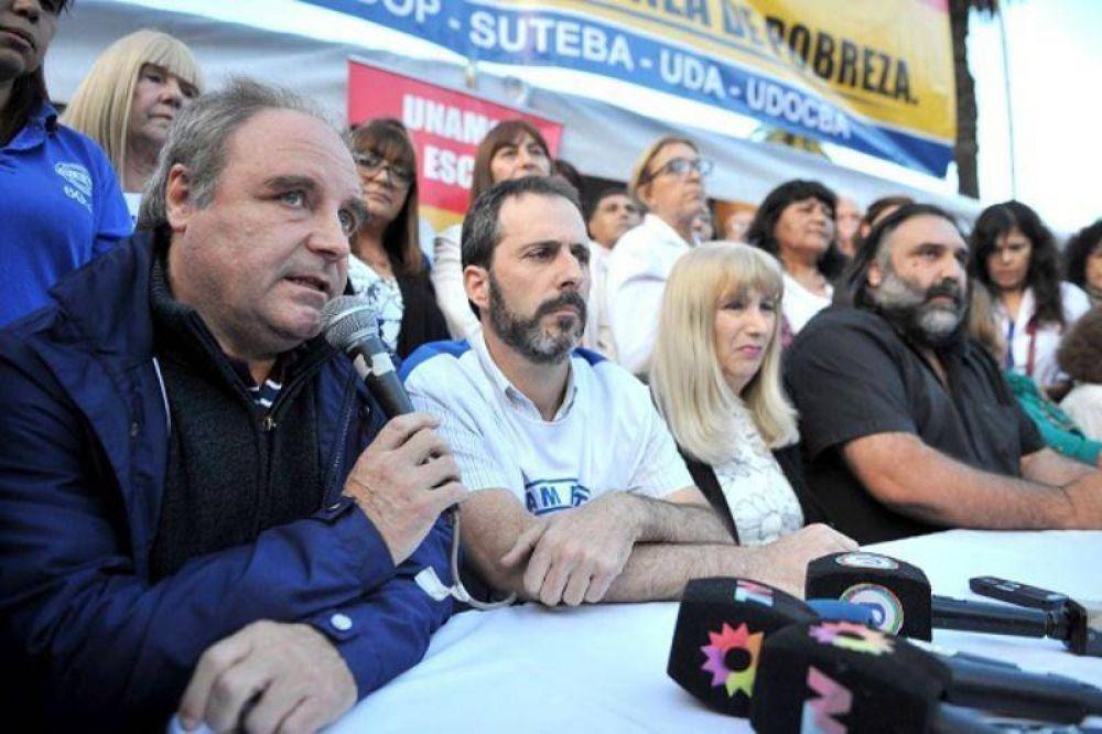 """Paritaria docente: """"Vamos a solicitar aumento, claúsula gatillo y blanqueo"""", adelantó Miguel Díaz"""