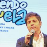 Kicillof en Merlo: Lanza el programa