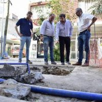 El Municipio de San Martín avanza con las obras hidráulicas en la ciudad