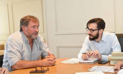 Alejandro Federico se reunió con Simone