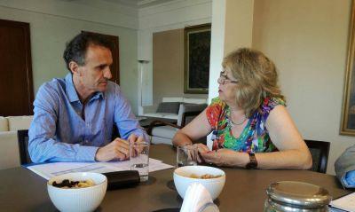 Viales se reunieron con Katopodis y Arrieta para analizar una agenda conjunta