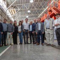 Luque tuvo una agenda ambiental con los municipios de Rada Tilly y Caleta Olivia