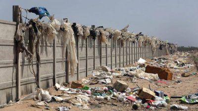 La basura a cielo abierto es un drama en la meseta