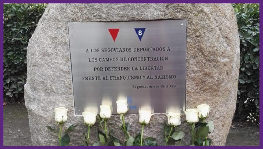 Segovia repondrá la placa homenaje a las víctimas del nazismo arrancada por vándalos
