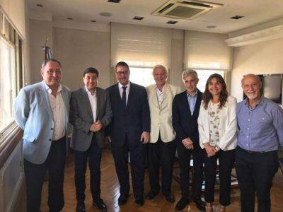 Autoridades de la institución se reunieron con el ministro de Desarrollo Social