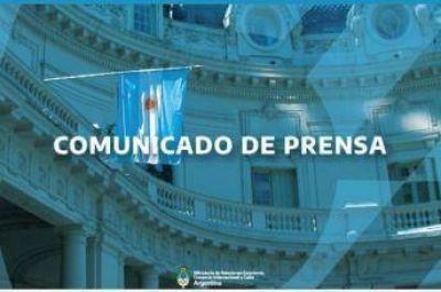 El Gobierno argentino expresa su solidaridad y condolencias al Gobierno y al pueblo de Turquía