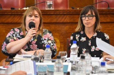 Hourquebié defendió el presupuesto de Desarrollo Social ante la oposición