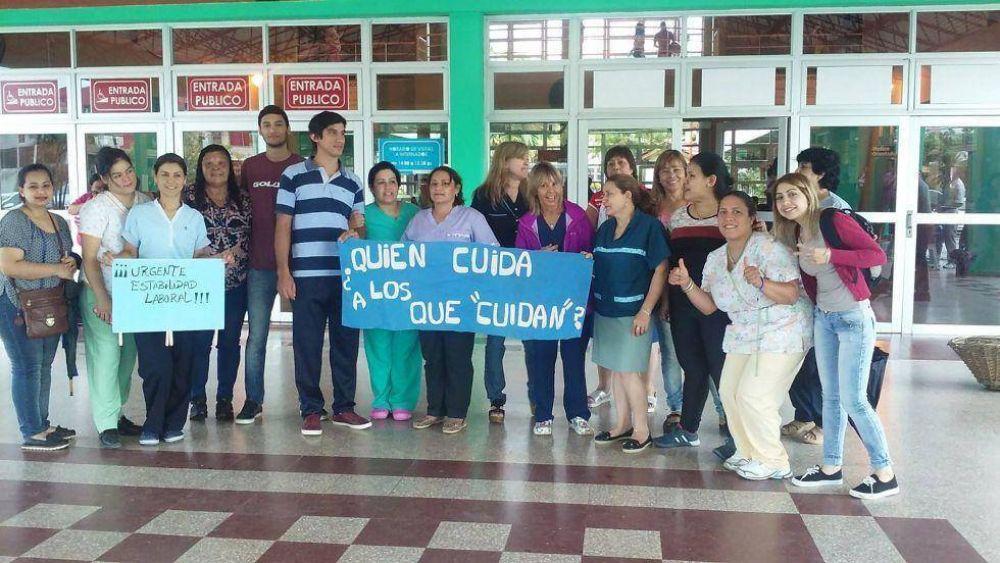 Gremio de la salud denunció que en Corrientes hay 800 enfermeros que cobran la mitad del salario mínimo