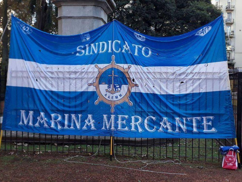 Marina Mercante se declaró en estado de alerta y movilización ante la intransigencia de los empresarios de arena y piedra