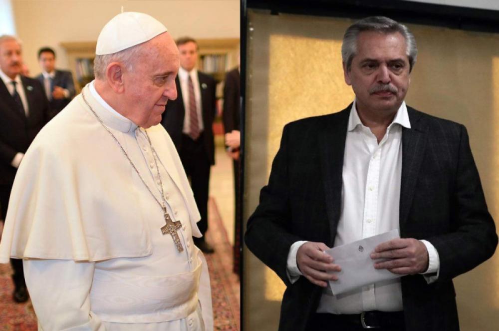Ruidos en la relación con el Papa a días de la visita del Presidente