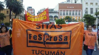 Trabajadores de la salud tucumanos van a una huelga de 48 horas en defensa de cláusula gatillo