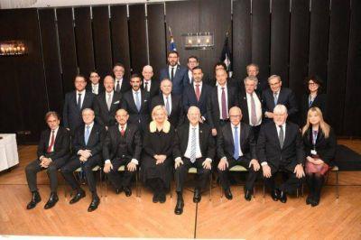 La AMIA, la DAIA y el Congreso Judío Latinoamericano se reunieron en el parlamento alemán con Reuven Rivlin y líderes judíos de todo el mundo