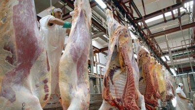 Los trabajadores de la carne ya no podrán cargar media reses sobre la espalda