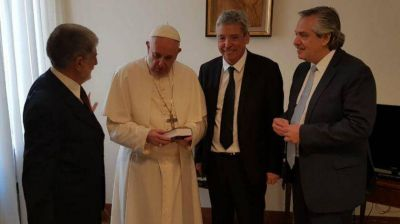 El Papa Francisco recibe a Alberto Fernández en una reunión clave