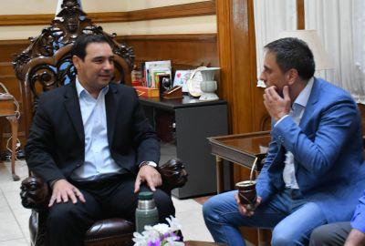 Guiño de Nación a Valdés para avanzar en el tratamiento de residuos urbanos