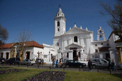 La ruta de reliquias de santos en la ciudad de Buenos Aires