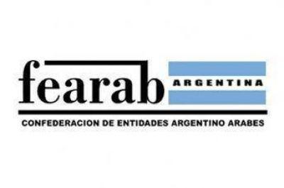 "Fearab Argentina repudia el ""Acuerdo del Siglo"""
