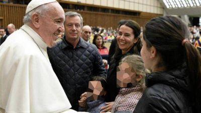 Antes de la visita de Alberto Fernández, Emilio Monzó se reunió con el Papa Francisco
