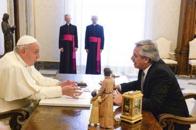 El balance que hizo Alberto Fernández de su reunión con el papa Francisco