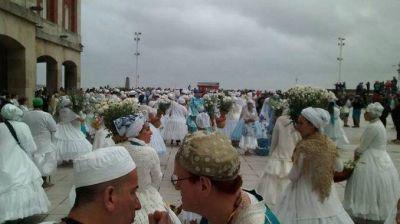Ceremonia en Homenaje a la Mae Iemanjá
