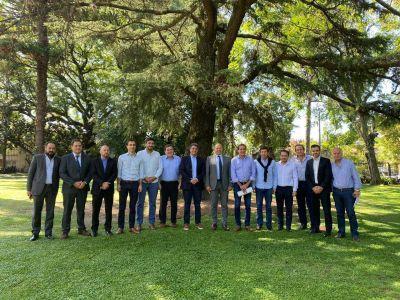 Jorge Macri recibió en Vicente López al Ministro Sergio Berni