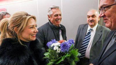 Alberto Fernández llegó a Berlín para buscar el respaldo de Merkel en la negociación por la deuda externa con el FMI
