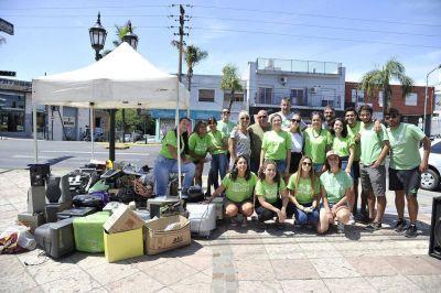 Tigre realizó la primera Feria de Recolección de Residuos Electrónicos del año