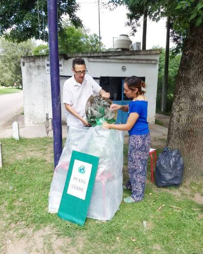 Olivera empieza a reciclar