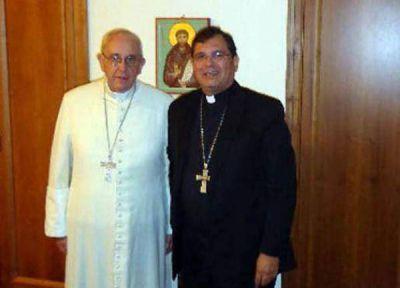 Audiencia privada entre Tissera y el Papa