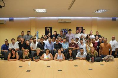 La Juventud Sindical volvió a pedir participación en el Gobierno