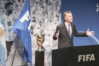 En el PRO evalúan que la designación de Macri en la FIFA debilita su rol como líder opositor
