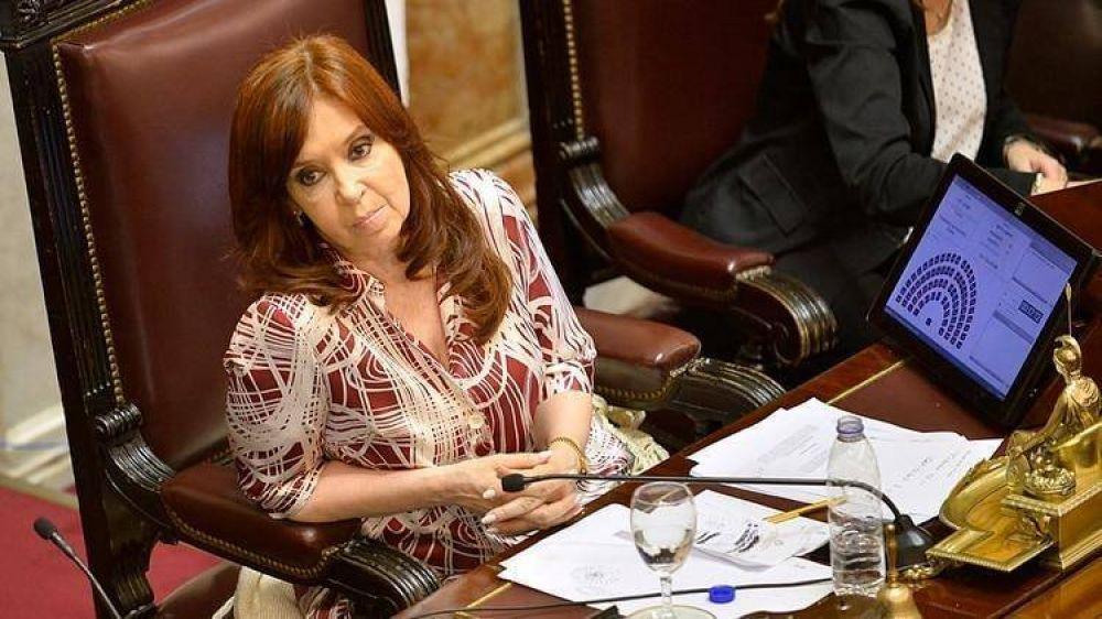 Cristina Kirchner rechazó una ejecución fiscal que había impulsado la AFIP de Macri y volvió a denunciar que es víctima de lawfare
