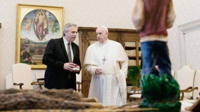 Luego de estar con Alberto, el Papa prepara una crítica al orden económico internacional