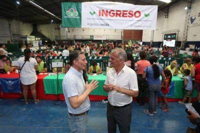 Fernando Gray destacó el desembarco de la tarjeta Alimentar a Esteban Echeverría