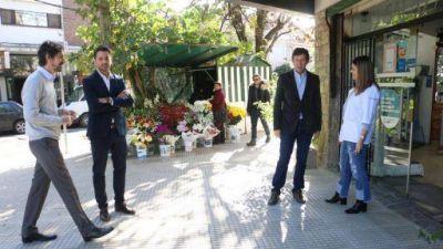 San Isidro: se renovaron 20 mil metros cuadrados de veredas