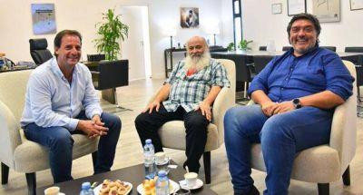El intendente Ariel Sujarchuk recibió al dirigente social Emilio Pérsico