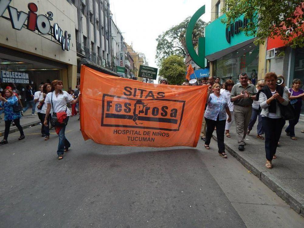 Tucumán: Tras la fallida reunión con el gobierno provincial, el Sitas vuelve al paro