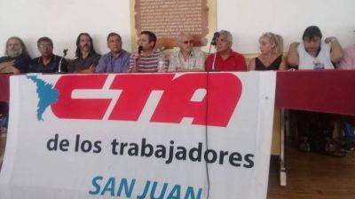 Lanzamiento del Frente Barrial CTA San Juan