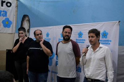 Se lanzó Encuentro Peronista en Tres de Febrero