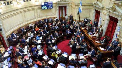 Con el apoyo de la oposición, el Senado debate hoy el proyecto para la negociación de la deuda