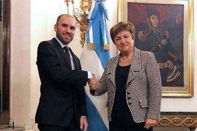 Tras reunirse en Roma con Martín Guzmán, la directora del FMI elogió las medidas del Gobierno