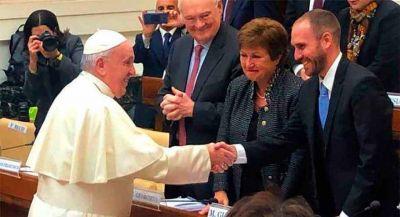 Fuerte espaldarazo del Papa a la estrategia argentina para reestructurar su deuda externa