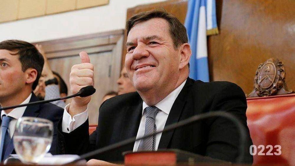 En medio del temporal, Montenegro celebró su primer triunfo político