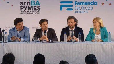 """En busca de reactivar la producción en la Provincia, Kicillof lanzó el plan """"ArriBAPymes"""""""