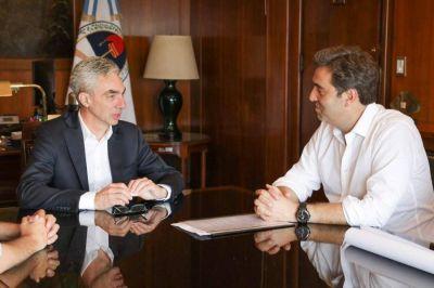 El Intendente Boto se reunió con el Ministro de Transporte de la Nación