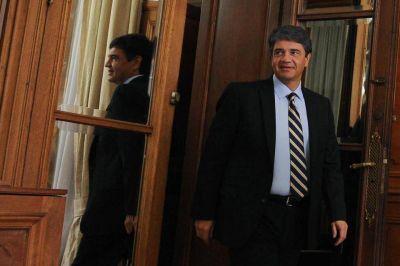 Jorge Macri sigue atrincherado en el Banco Provincia