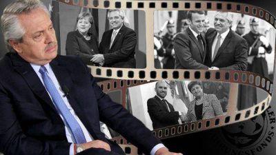 Bien con la diplomacia, mal con el mercado: Alberto ajusta su estrategia para negociar con FMI