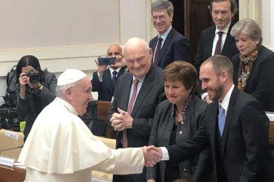 Espaldarazo del Papa a la Argentina frente al FMI: