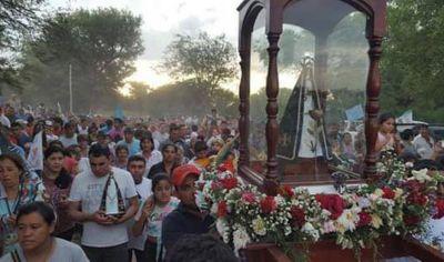 La Virgen de Huachana reunió a cientos de fieles santiagueños y foráneos